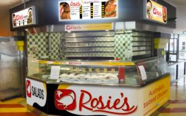 Rosie's Add On Fast Food System - ANU, Canberra
