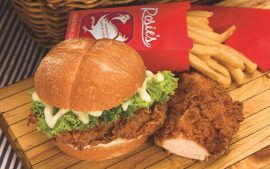 Rosie's Chicken Fillet Burger - Australia's Tastiest Chicken